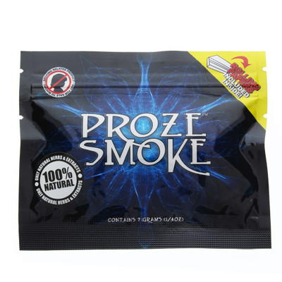 Proze Smoke: 7 grams of Natural Smoking Herbs for Clarity