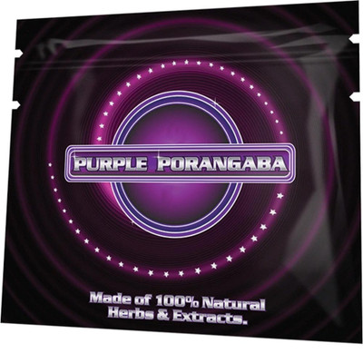 Purple Porangaba Herbal Smoking Blend 1g Pouch