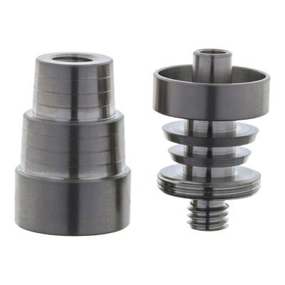 Domeless Titanium Nail, Interchangeable Male & Female 14mm through 19mm