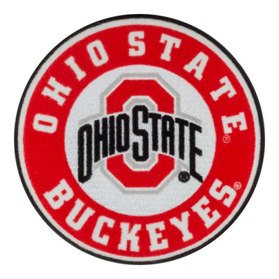 Ohio State Flocked Decal