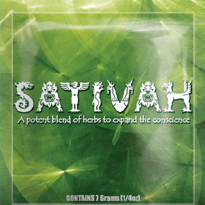 Sativah Herbal Smoking Blend 7g Pouch