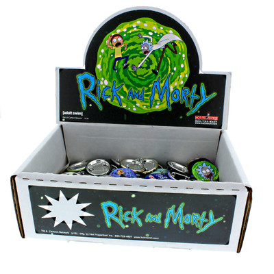 Rick & Morty Buttons for sale and available in wholesale