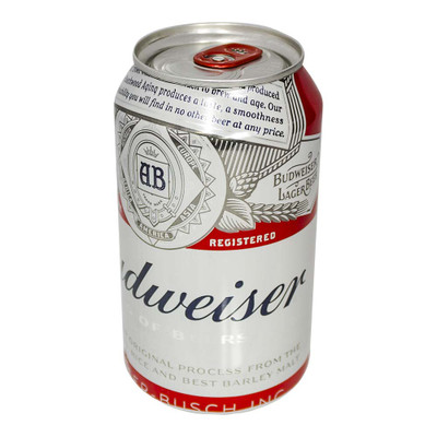 Budweiser Beer Can Safe
