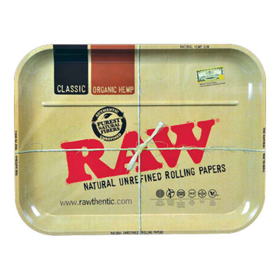 RAW Metal Rolling Tray for sale.
