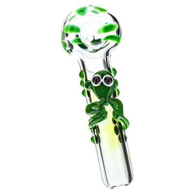 Buy Glass Frog Spoon Pipe