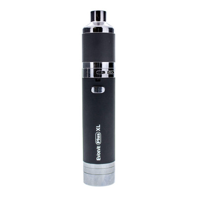 The Yocan Evolve Plus XL Concentrate Vaporizer fits in your hand like it was a small bottle. It's bigger than conventional vape pens, but it does produce bigger clouds!