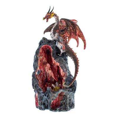 Dragon Cave Red Backflow Incense Burner for sale online headshop