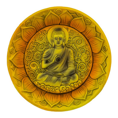 Buddha Round Incense Burner