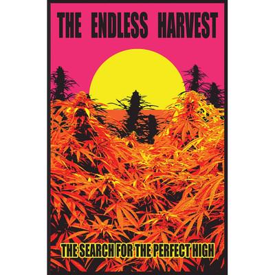 Endless Harvest Black Light Poster