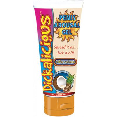 Dickalicious Penis Arousal Cream Pina Colada 2oz.