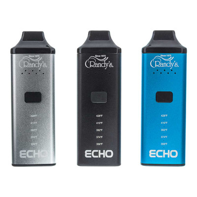 Randy's Echo is available in 3 colors: Black, Silver, and Blue.