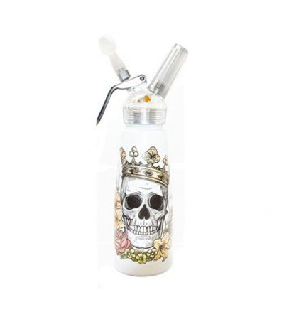 Skull King Aluminum Cream Dispenser 1 Pint