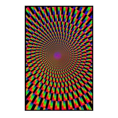 Mind's Eye Black Light Poster