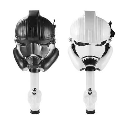 Stormtrooper Gas Mask with Skull Tube star wars