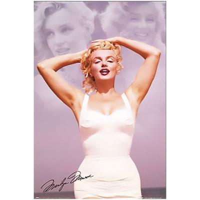 Marilyn Monroe Collage Poster print artwork.