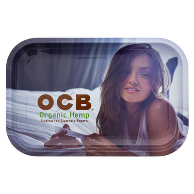 Buy OCB Organic Hemp Metal Rolling Tray