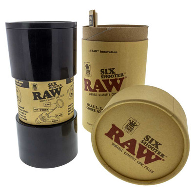 RAW Six Shooter King-Sized Multi-Cone Loader