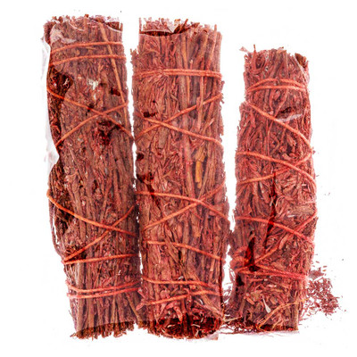 "Dragon's Blood Sage 4"" Bundle, 3-Pack"
