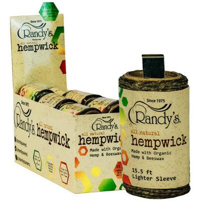 Randy's 15.5' Hempwick Lighter Sleeve