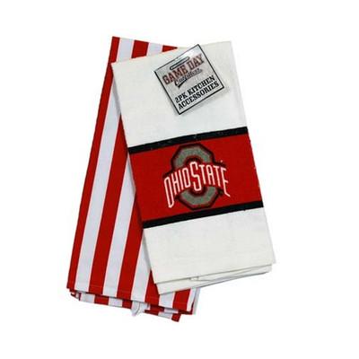 Ohio State Kitchen Towel 2pc Set