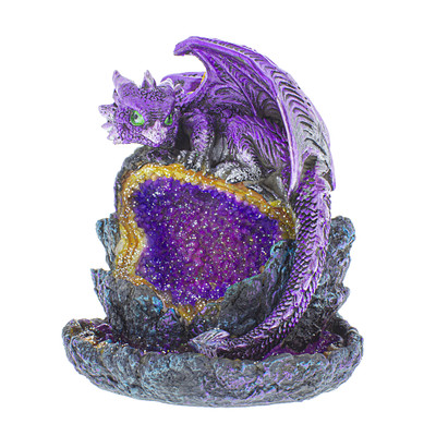 Baby Dragon Geode Backflow Burner for sale