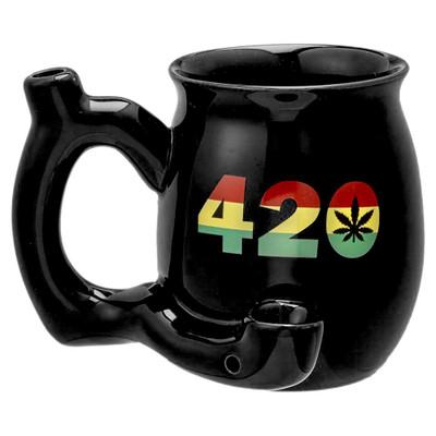 Rasta 420 Roast & Toast Pipe Mug.