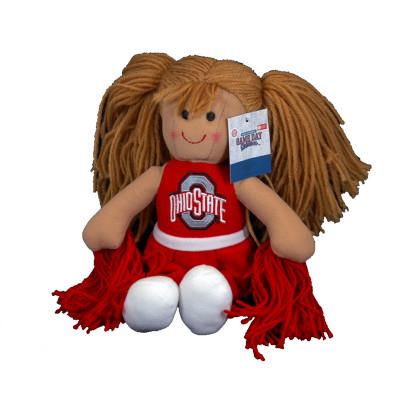 Ohio State Plush Cheerleader Doll