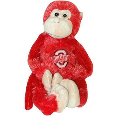 Ohio State Plush Monkey w/ Movable Legs