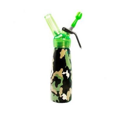 Camouflage Aluminum Cream Dispenser 1 Pint