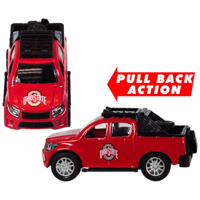 Ohio State Buckeyes Pull Back Truck Toy