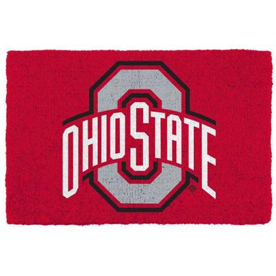 Ohio State Buckeyes Coir Doormat