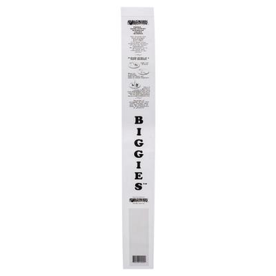 "21"" tall Biggie Incense storage bag."