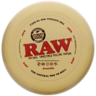 Raw Flying Disc Rolling Tray viewed from the front.