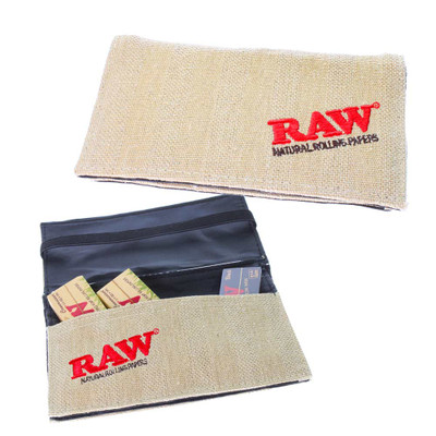 Raw smell proof wallet for smokers and stoners.