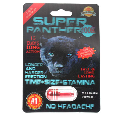 Have a better sex life for you and your partner with super panther super potent formula.