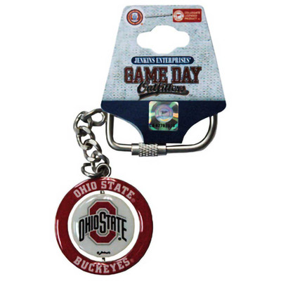 Ohio State Buckeyes Spinning Color Keychain