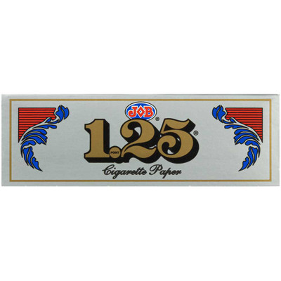 JOB 1.25 Ultra-Thin Silver Rolling Papers