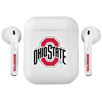 Ohio State Buckeyes Bluetooth Earbuds