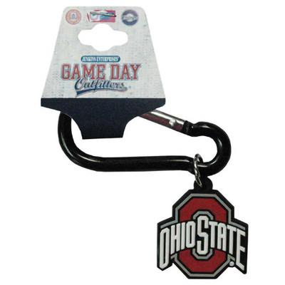Ohio State Buckeyes Carabiner Keychain with OSU Logo