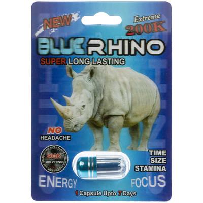 Blue Rhino Extreme 200K Male Enhancement Pill
