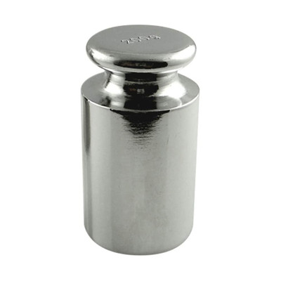 A single 200 gram stainless steel weight.