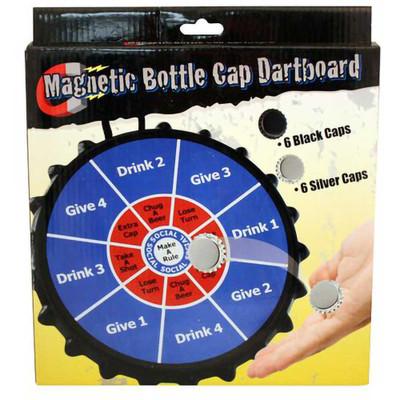Bottle Cap Dart Board Drinking Game