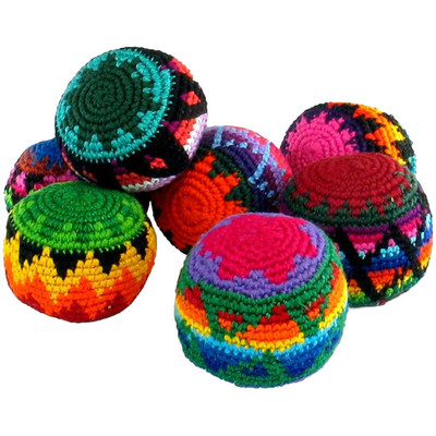 Hacky Sack Woven Footbags, Assorted