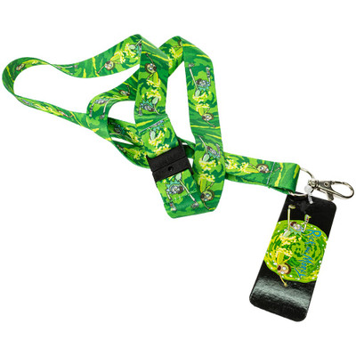 Rick and Morty Portal Lanyard