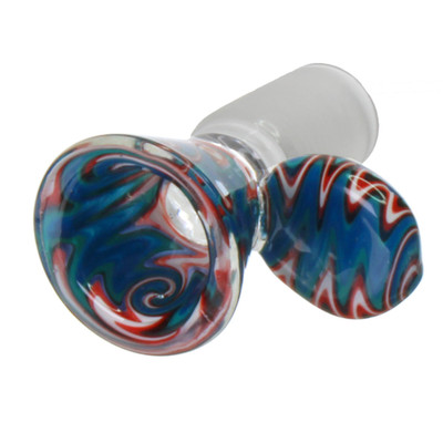 Thick glass 19mm male replacement upgraded bowl.