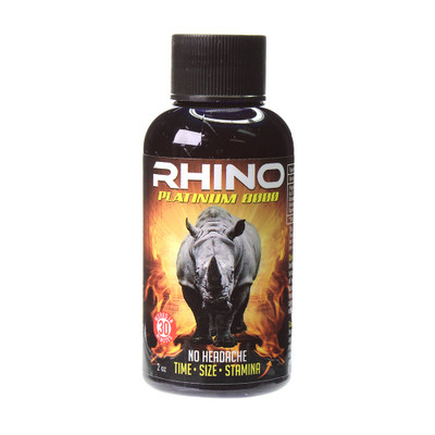 The best sex you'll ever have is in this Rhino liquid shot.