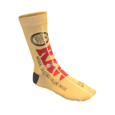 Crew Ankle warm Raw rolling paper socks.