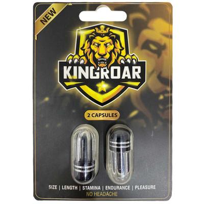 A 2 pack of King Roar Black.