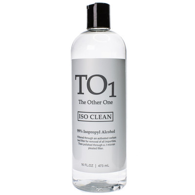 The other one cleaner is the best and strongest cleaner with 99% pure isopropyl Alcohol to bust through grime and resin.