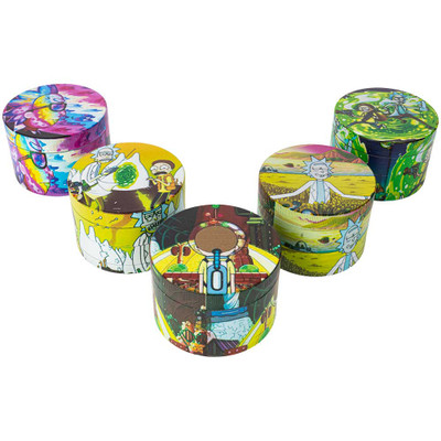 58mm Rick and Morty Graphic Grinders, Assorted Graphics